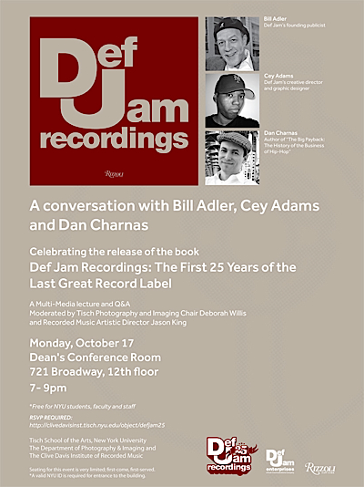 Def jam the first 25 years of the last great record label dan charnas the fandeluxe Choice Image
