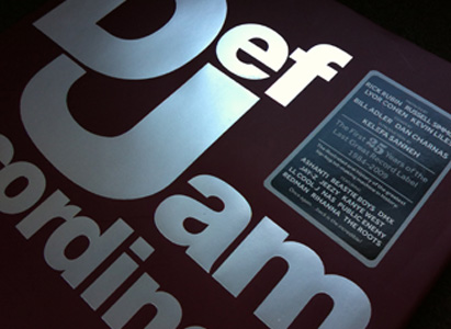 AND FOR YOUR COFFEE TABLE... :: <em>Def Jam: The First 25 Years Of The Last Great Record Label</em>, coauthored with Bill Adler and Cey Adams...